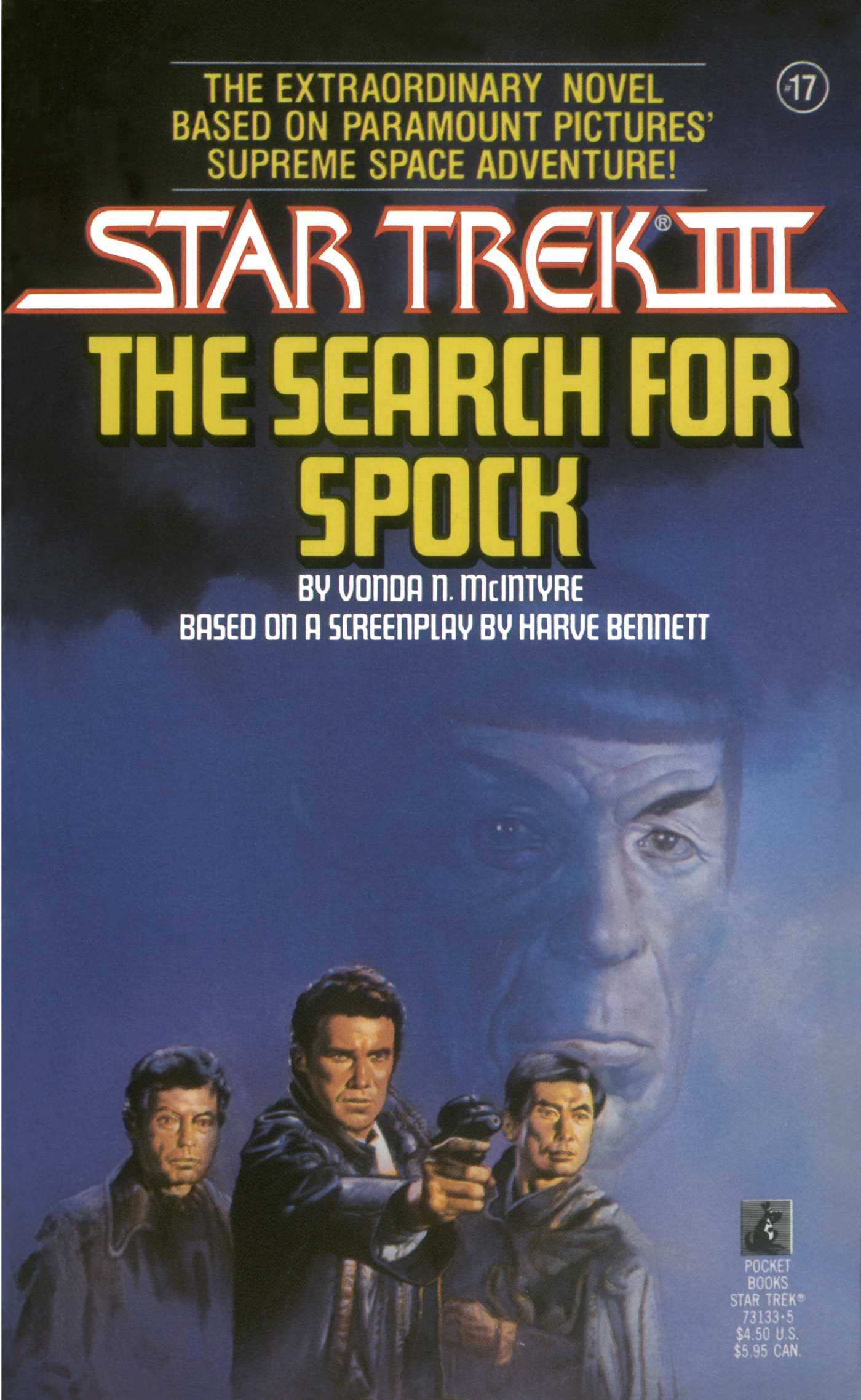 Star trek iii the search for spock movie tie in novelization 9780743419680 hr
