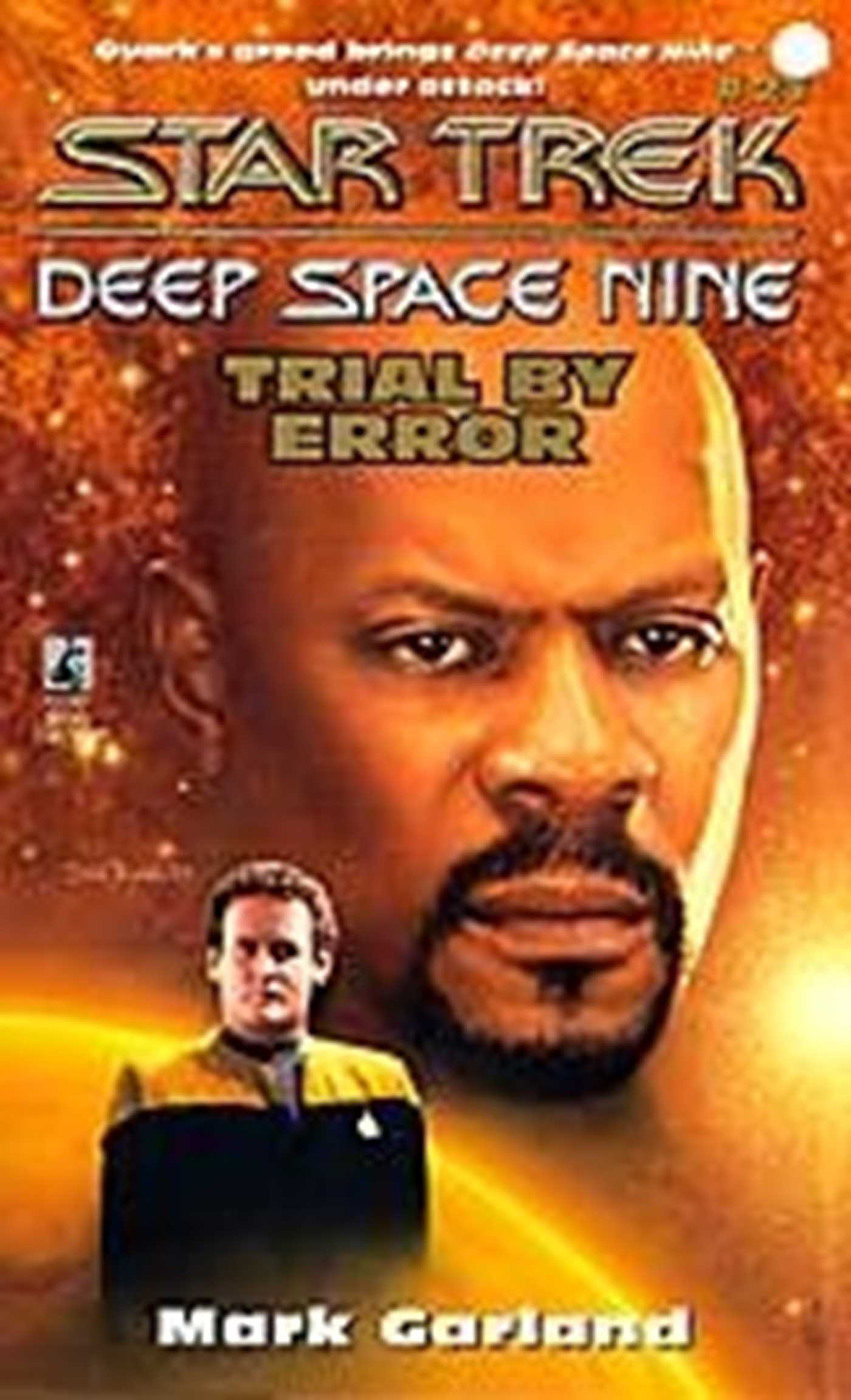 Simon schuster star trek deep space nine trial by error fandeluxe Document