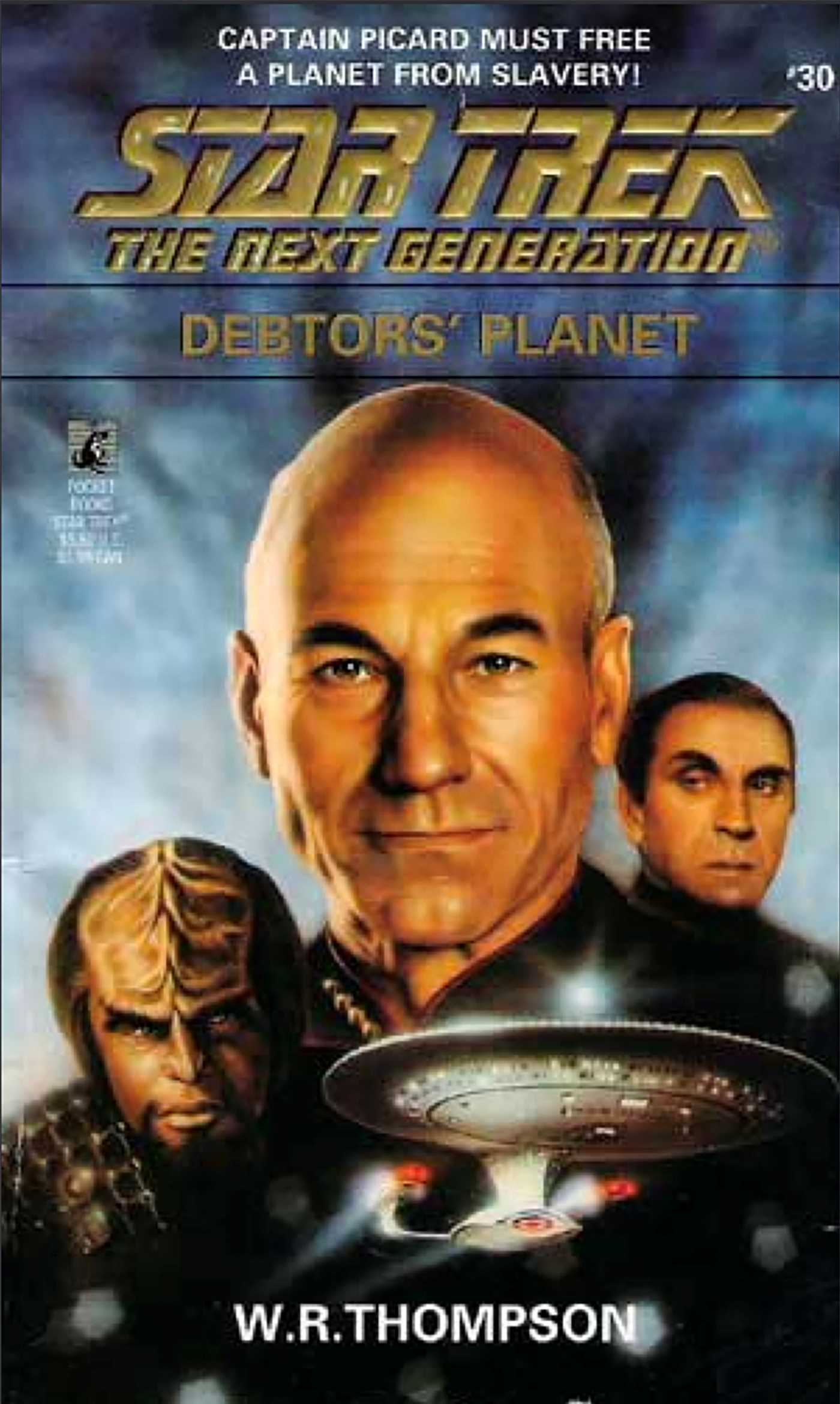 Star trek the next generation debtors planet 9780743421133 hr