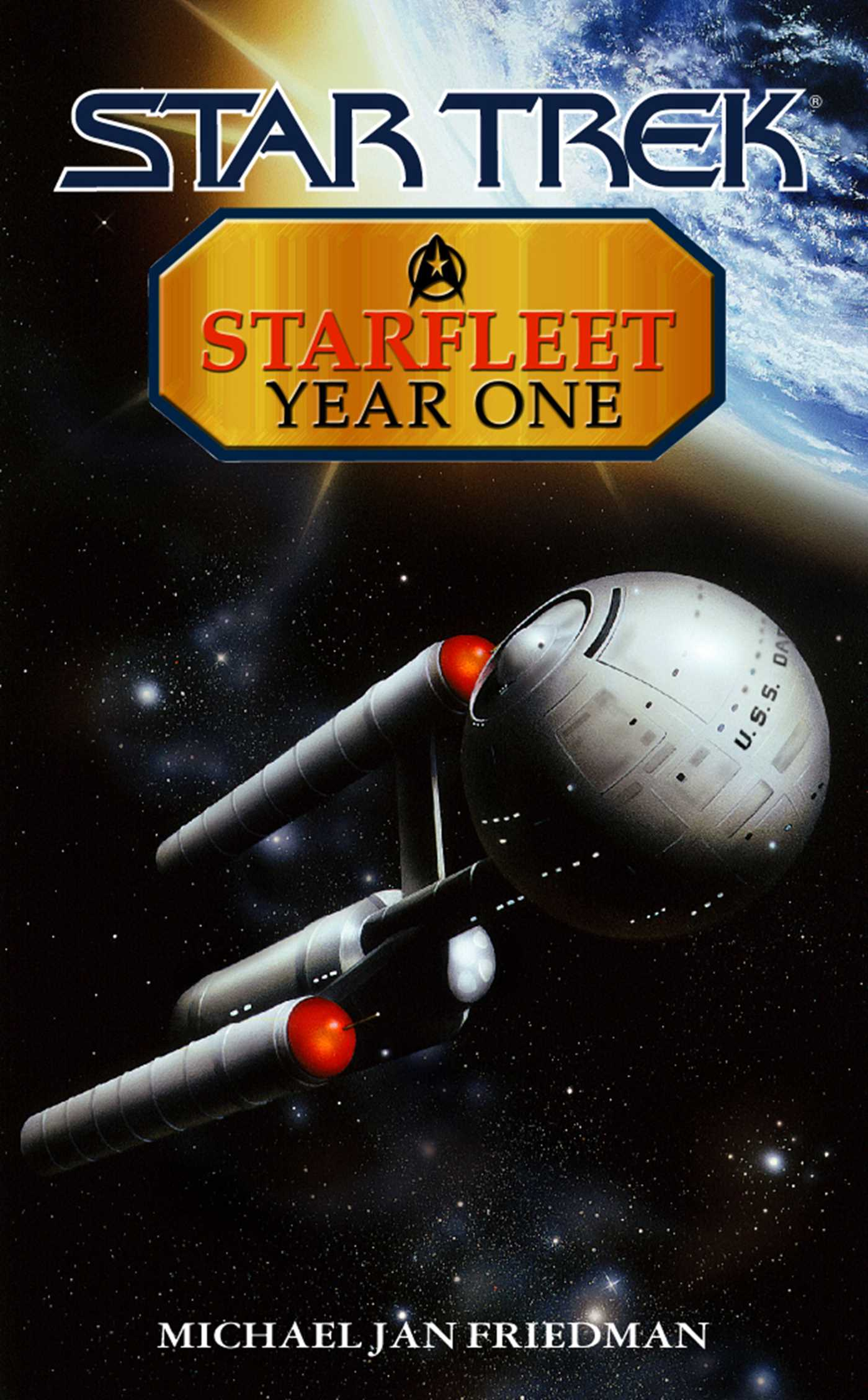 Starfleet year one 9780743437899 hr
