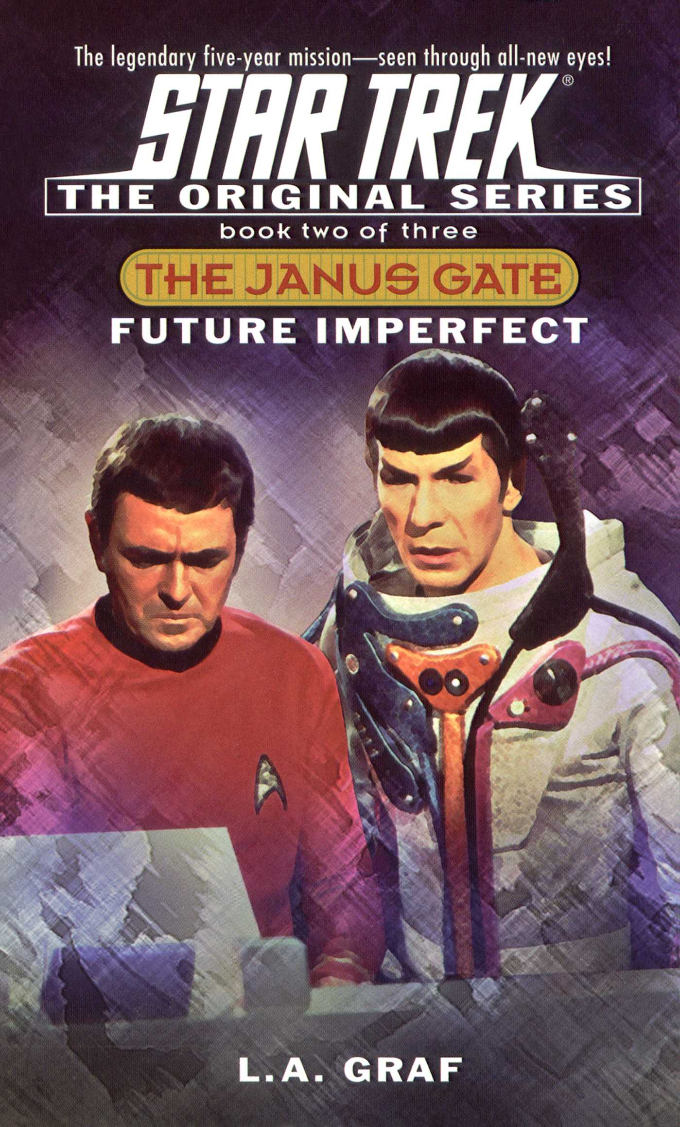 Future imperfect ebook by la graf official publisher page star trek the original series the janus gate 2 future imperfect 9780743445955 hr fandeluxe Ebook collections