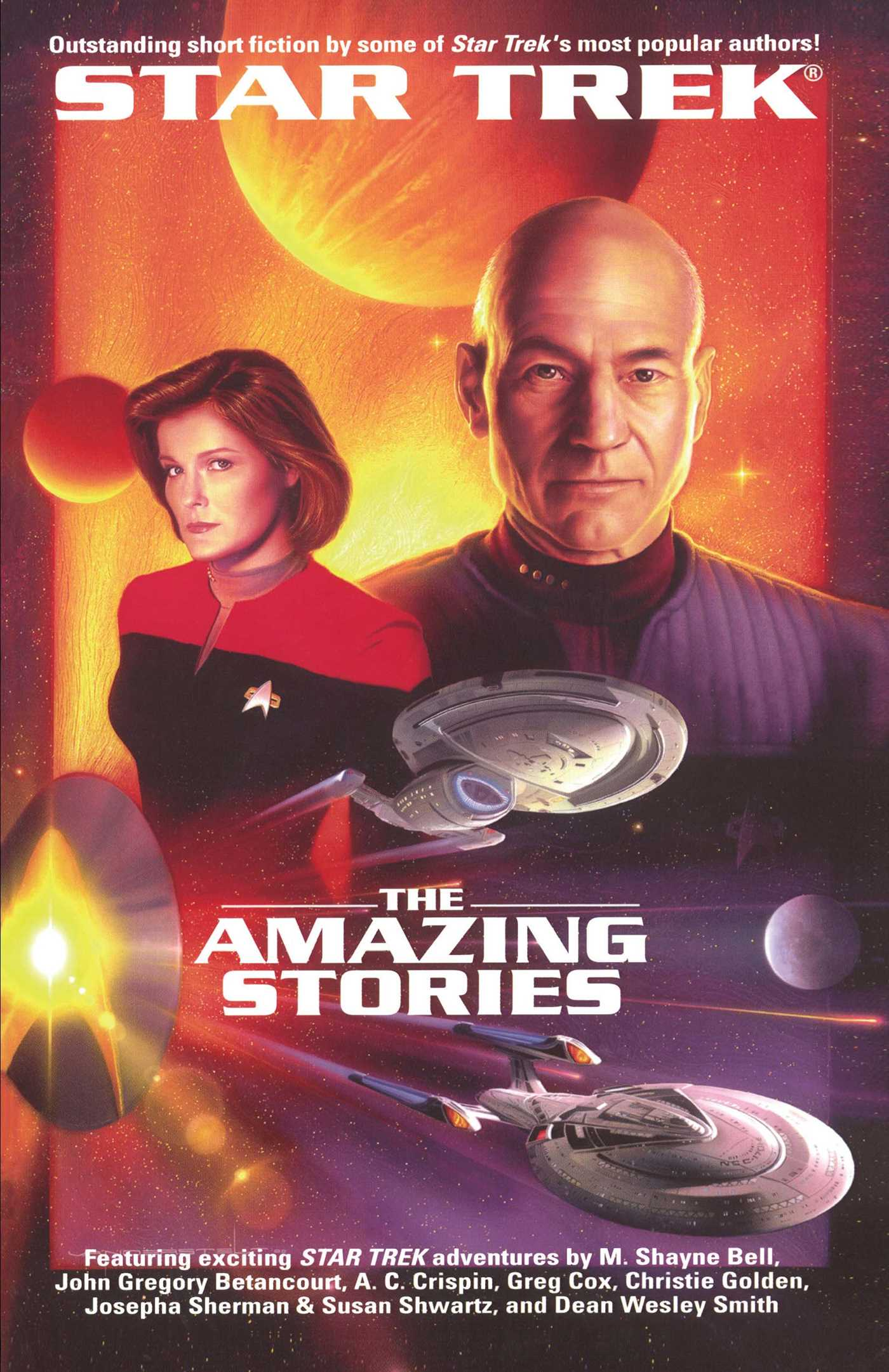 The star trek the next generation the amazing stories anthology 9780743449151 hr