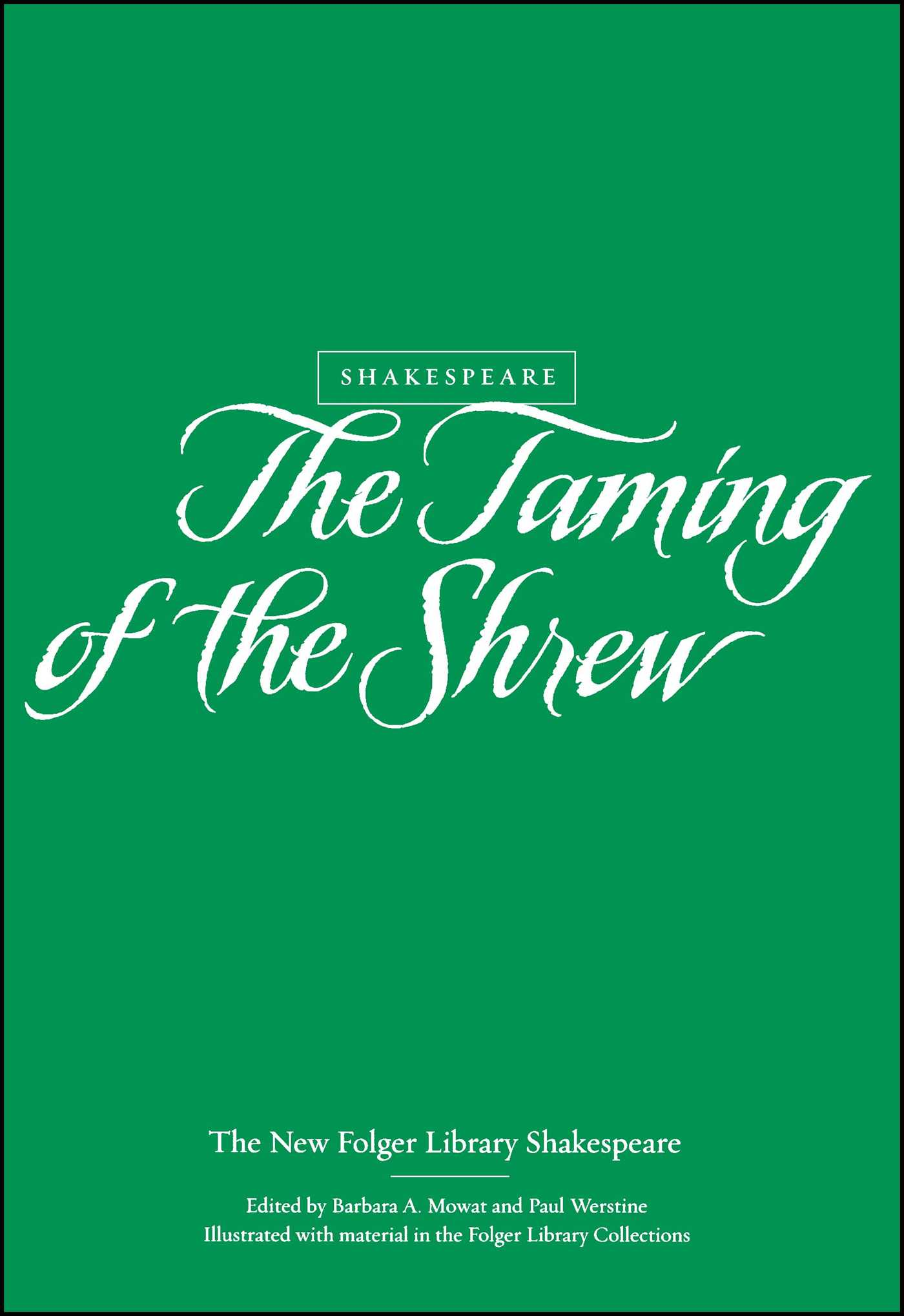 The taming of the shrew 9780743452977 hr