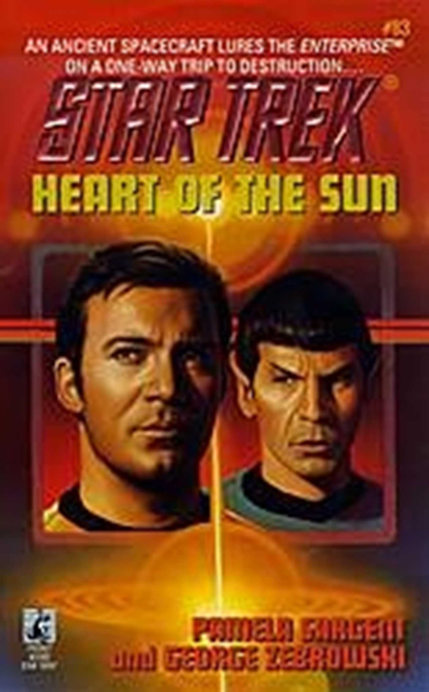 Heart of the sun star trek 83 9780743454001 hr