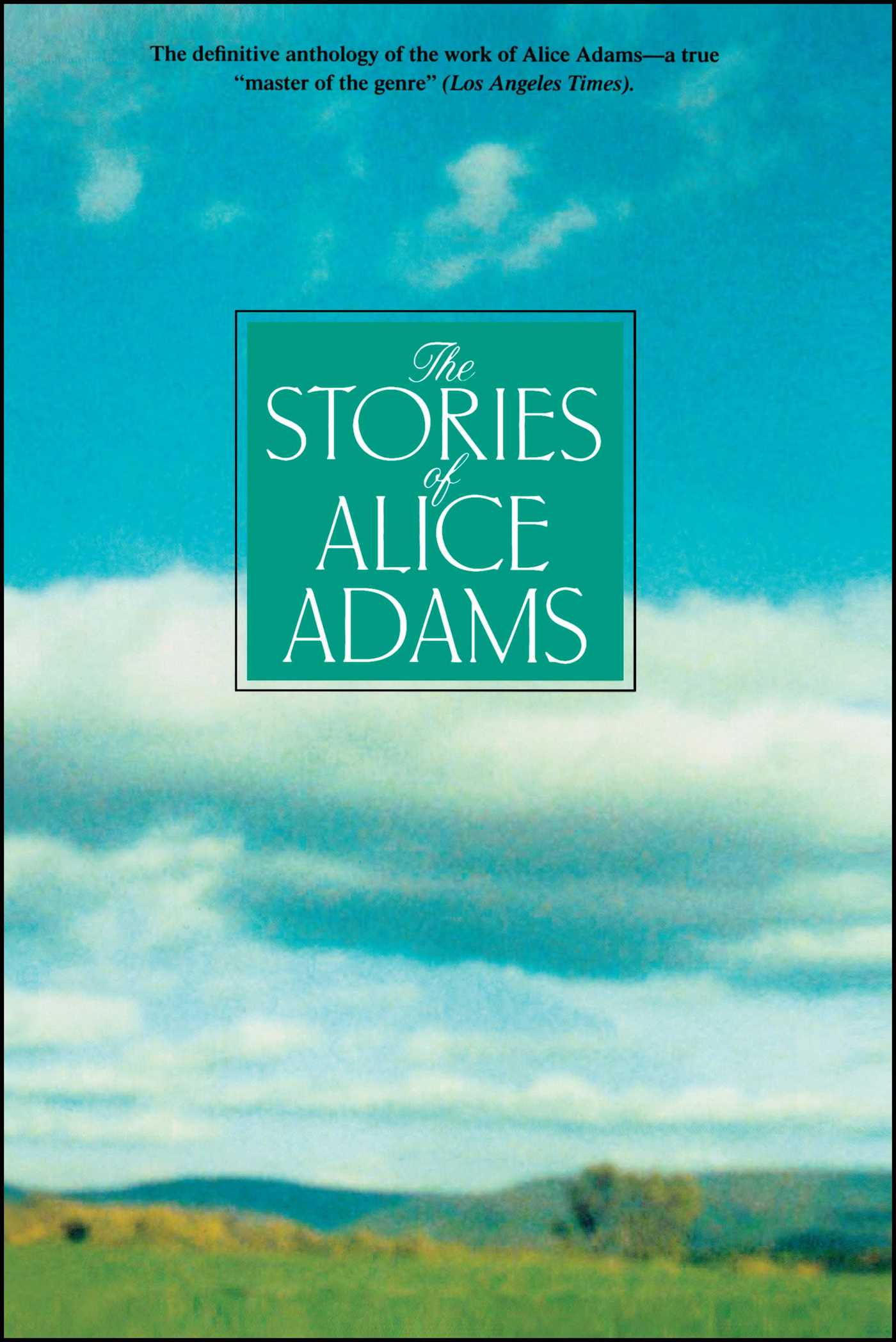The stories of alice adams 9780743464505 hr