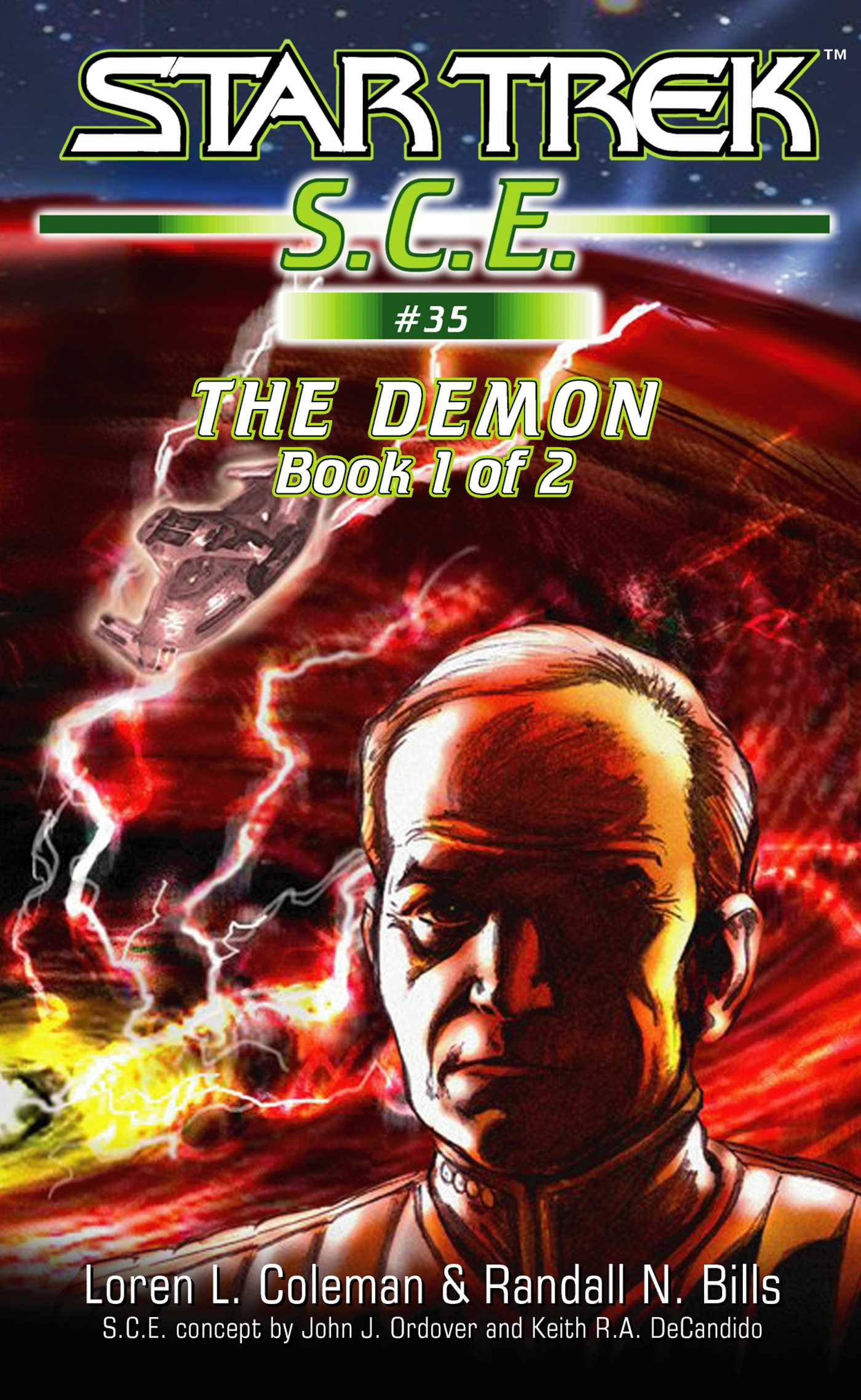 Star trek the demon book 1 9780743476096 hr