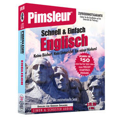 Pimsleur English for German Speakers Quick & Simple Course - Level 1 Lessons 1-8 CD