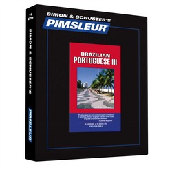 Pimsleur Portuguese (Brazilian) Level 3 CD