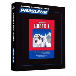 Pimsleur Greek (Modern) Level 1 CD