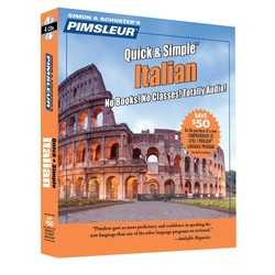 Pimsleur Italian Quick & Simple Course - Level 1 Lessons 1-8 CD