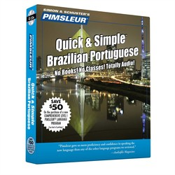 Pimsleur Portuguese (Brazilian) Quick & Simple Course - Level 1 Lessons 1-8 CD