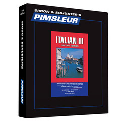 Pimsleur Italian Level 3 CD