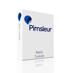 Pimsleur Turkish Basic Course - Level 1 Lessons 1-10 CD