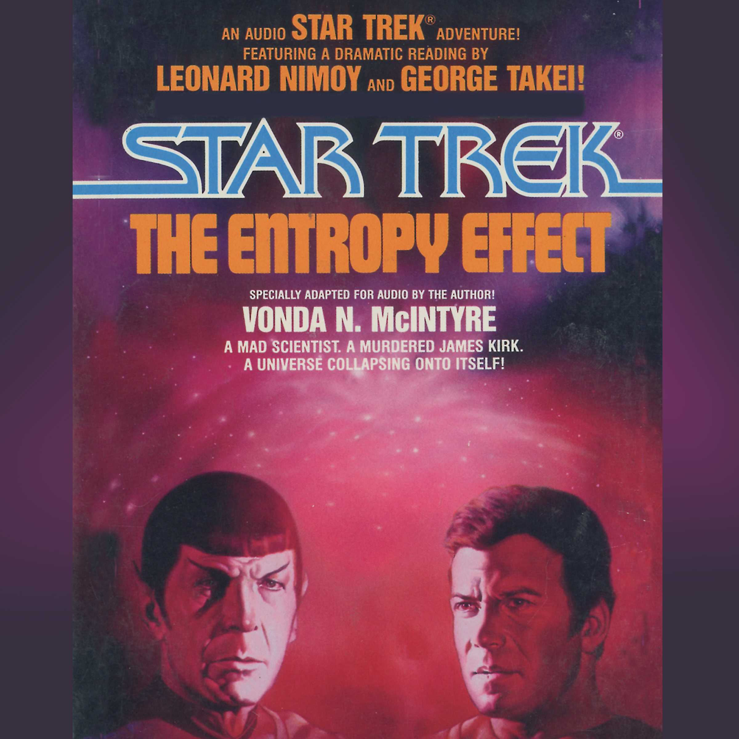 Star trek entropy effect 9780743545365 hr