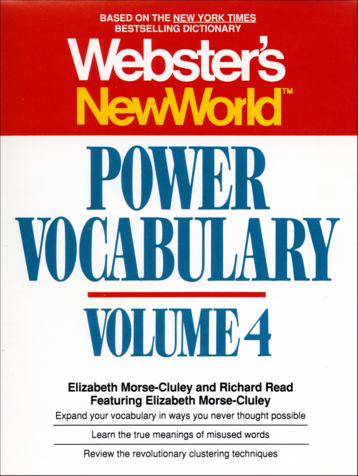 Websters new world power vocabulary volume 4 9780743545549 hr