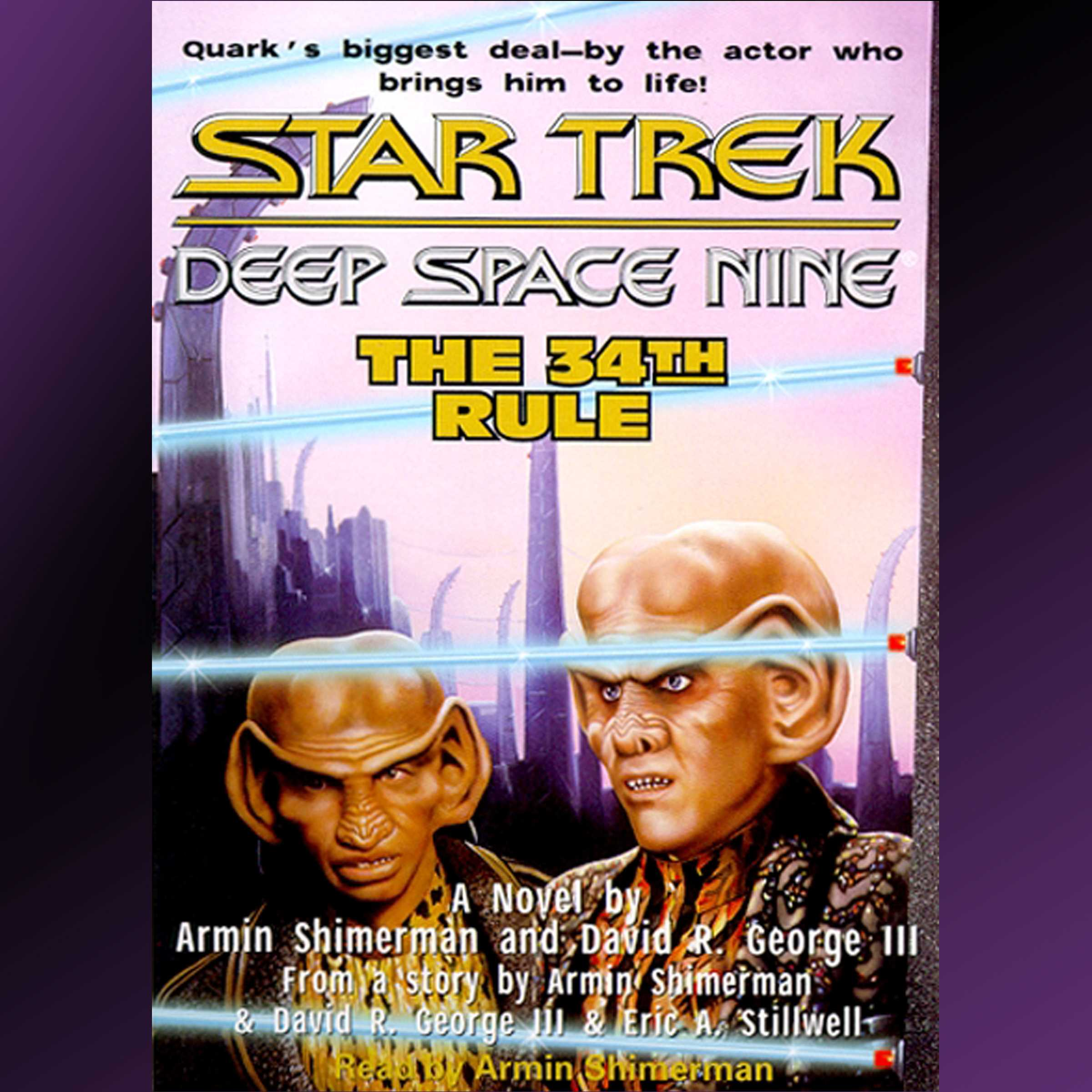 The the 34th rule audiobook by david r george iii armin the star trek deep space nine the 34th rule 9780743546249 hr fandeluxe Epub