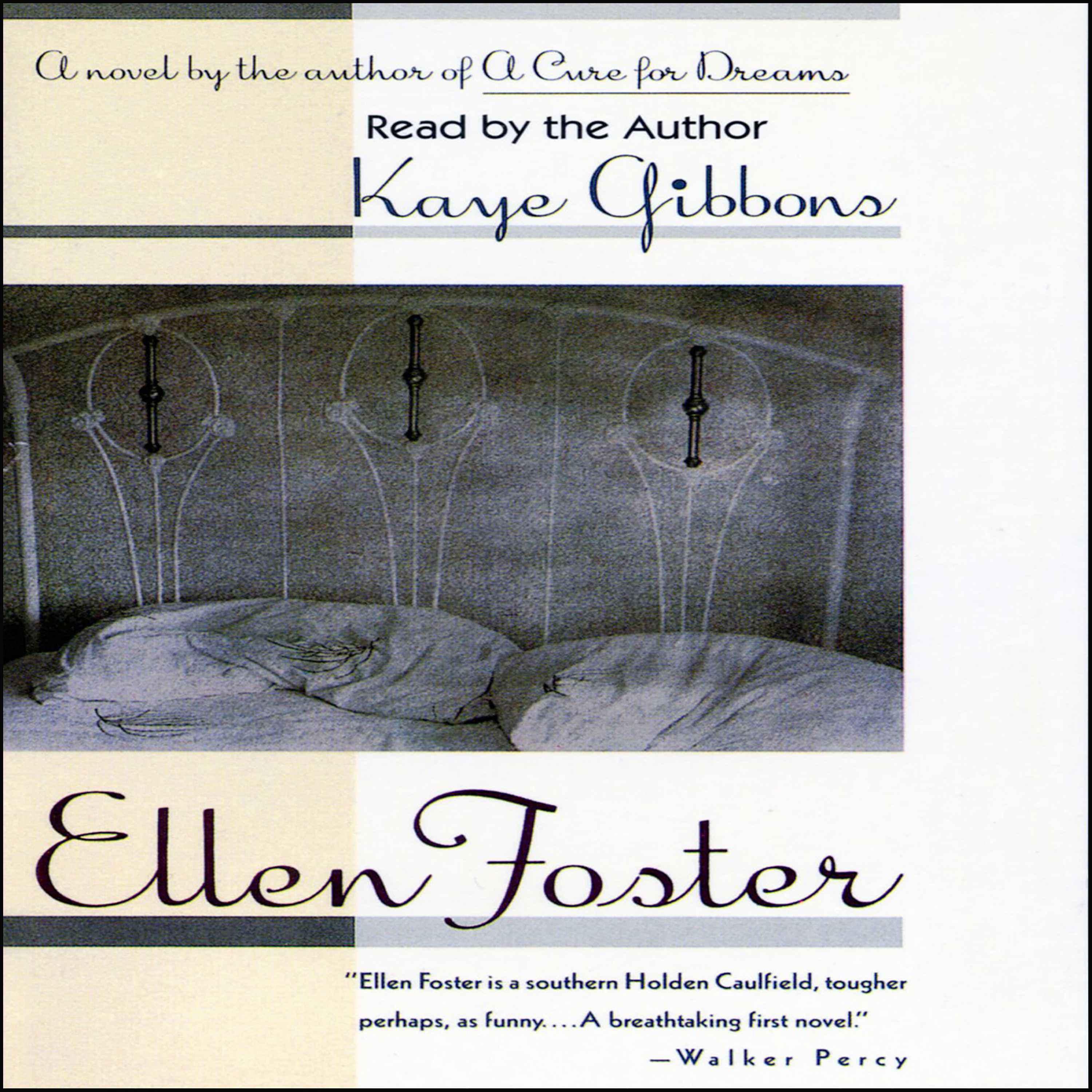 an analysis of ellen foster by kaye gibbons Two questions: 1) how does ellen act at her aunt betsy's house in ch7 and what insight does she gain from this experience 2) how does she act at julia and roy&#39s house in ch 8 and what insight does she gain from this experience.