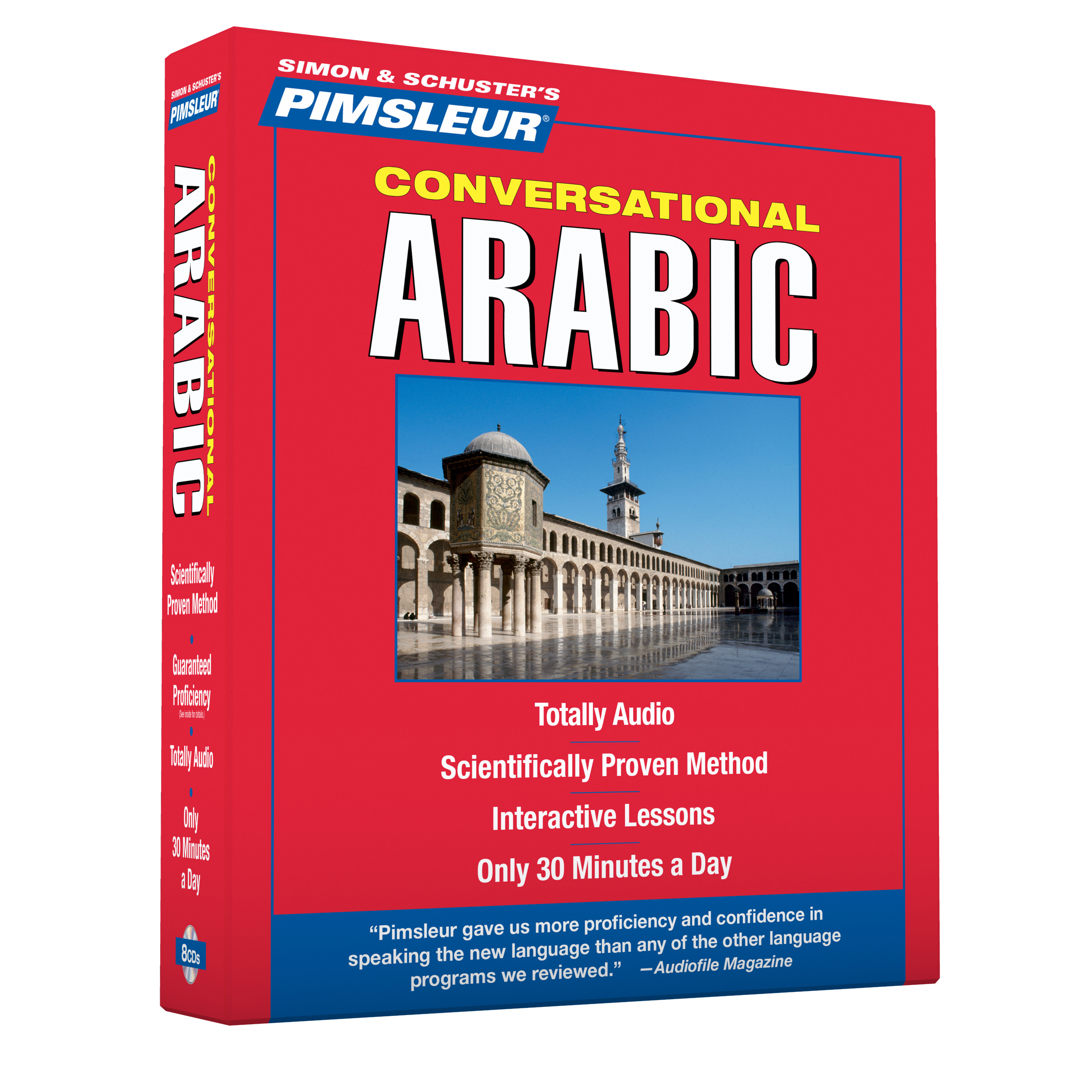 Pimsleur Arabic Eastern Conversational Course Level Lessons 16 Cd Hr Russian