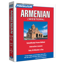 Pimsleur Armenian (Western) Level 1 CD