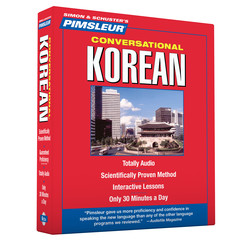 Pimsleur Korean Conversational Course - Level 1 Lessons 1-16 CD