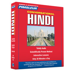 Pimsleur Hindi Conversational Course - Level 1 Lessons 1-16 CD