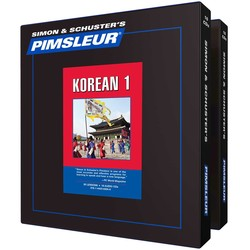 Pimsleur Korean Levels 1-2 CD