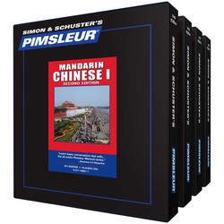 Pimsleur Chinese (Mandarin) Levels 1-4 CD