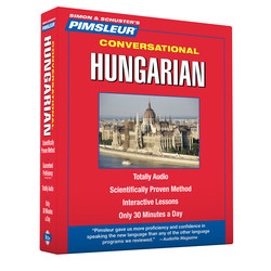 Pimsleur Hungarian Conversational Course - Level 1 Lessons 1-16 CD