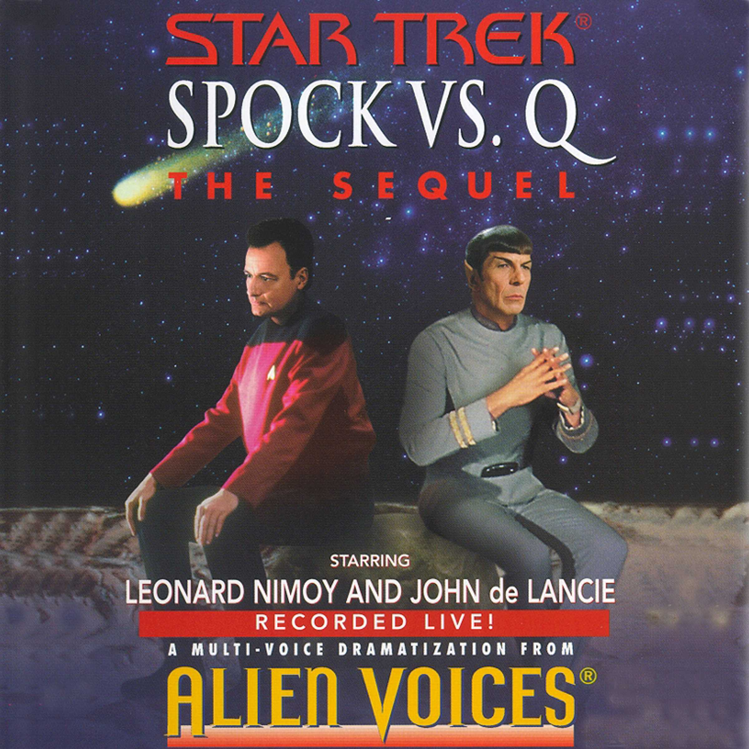Star trek spock vs q the sequel 9780743569828 hr