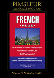 Pimsleur French Plus Course CD