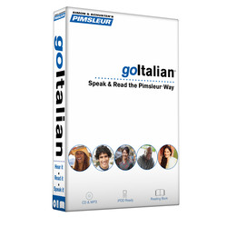Pimsleur goItalian Course - Level 1 Lessons 1-8 CD