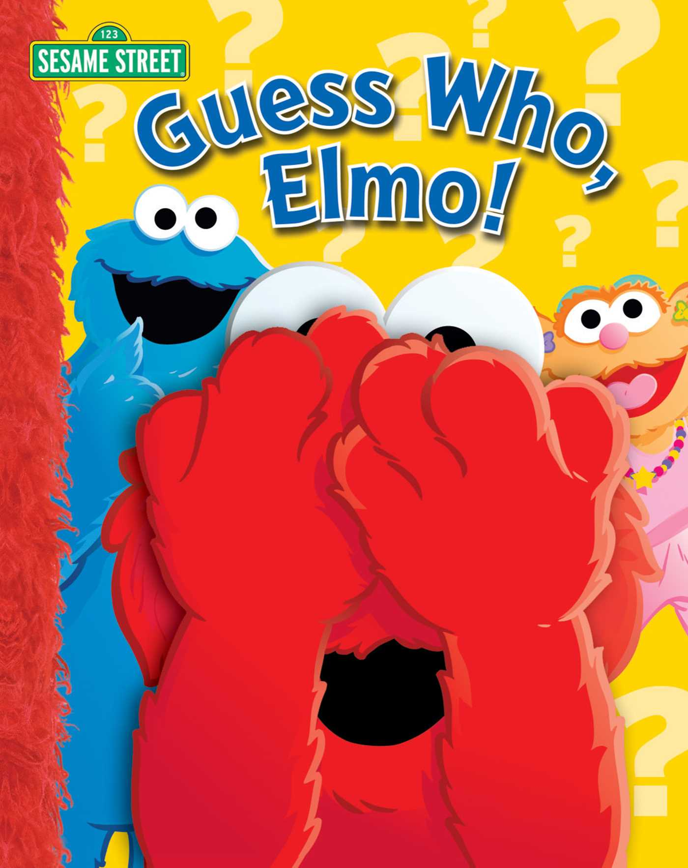 Sesame street guess who elmo 9780794412111 hr