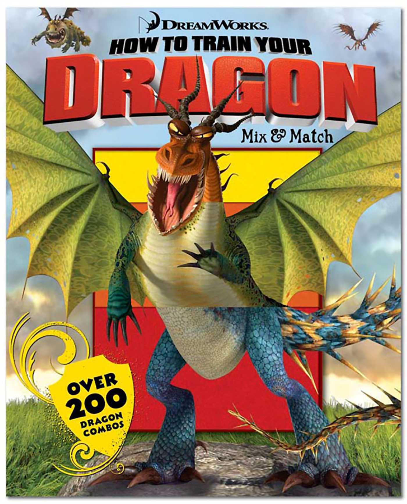 How to Train Your Dragon Mix  Match  Book by David Roe