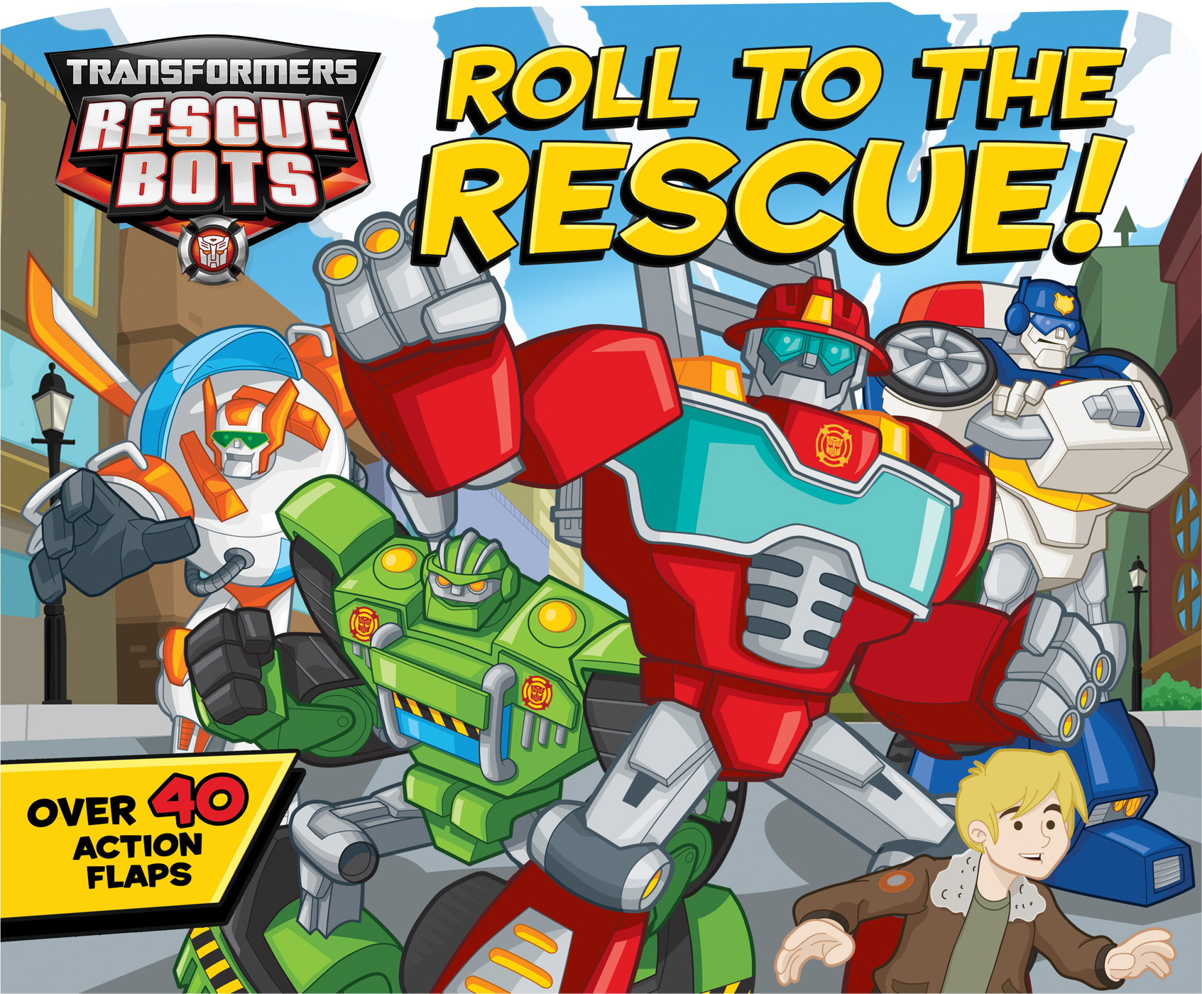Transformers rescue bots roll to the rescue 9780794428495 hr