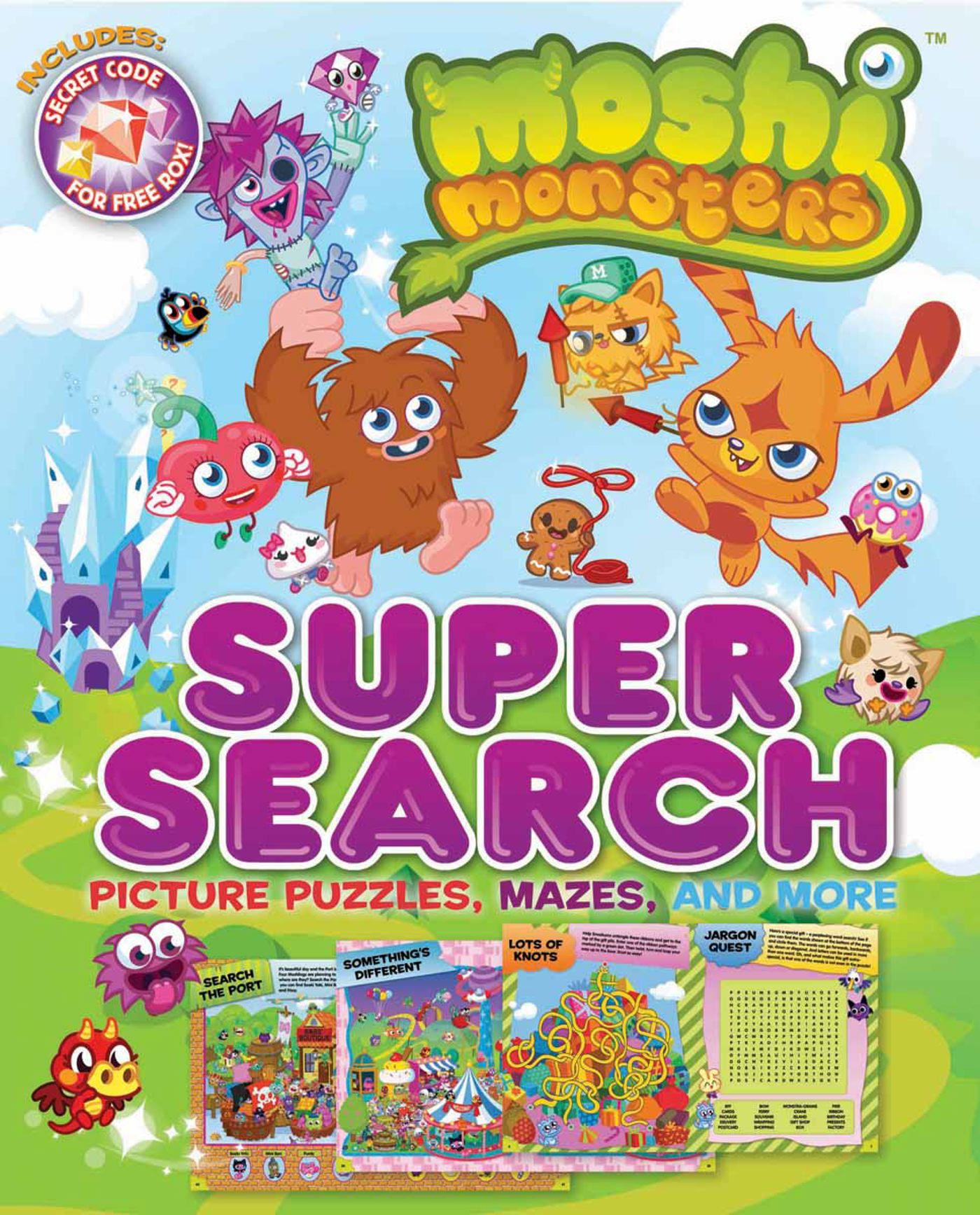Moshi monsters super search 9780794429287 hr