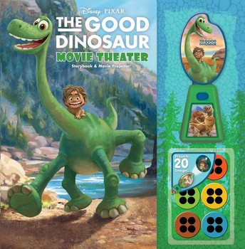 Disney•Pixar The Good Dinosaur Movie Theater Storybook & Movie Projector
