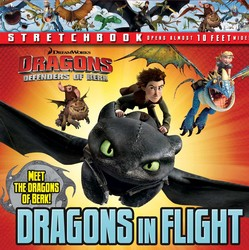 DreamWorks Defenders of Berk: Dragons in Flight Stretchbook