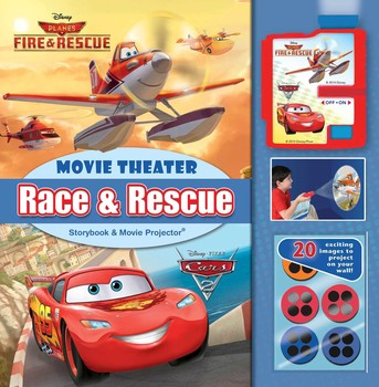 Disney Race & Rescue: Movie Theater Storybook & Movie Projector