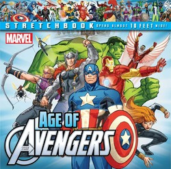 Marvel Age of Avengers Stretchbook