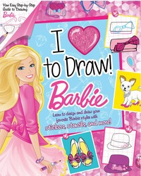 Barbie: I Love to Draw!