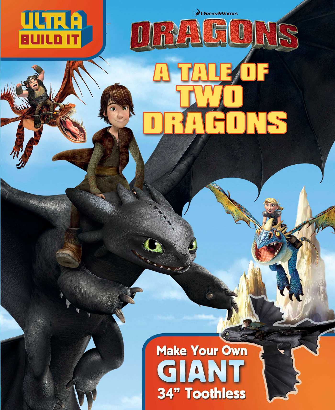 Dreamworks dragons a tale of two dragons 9780794433192 hr