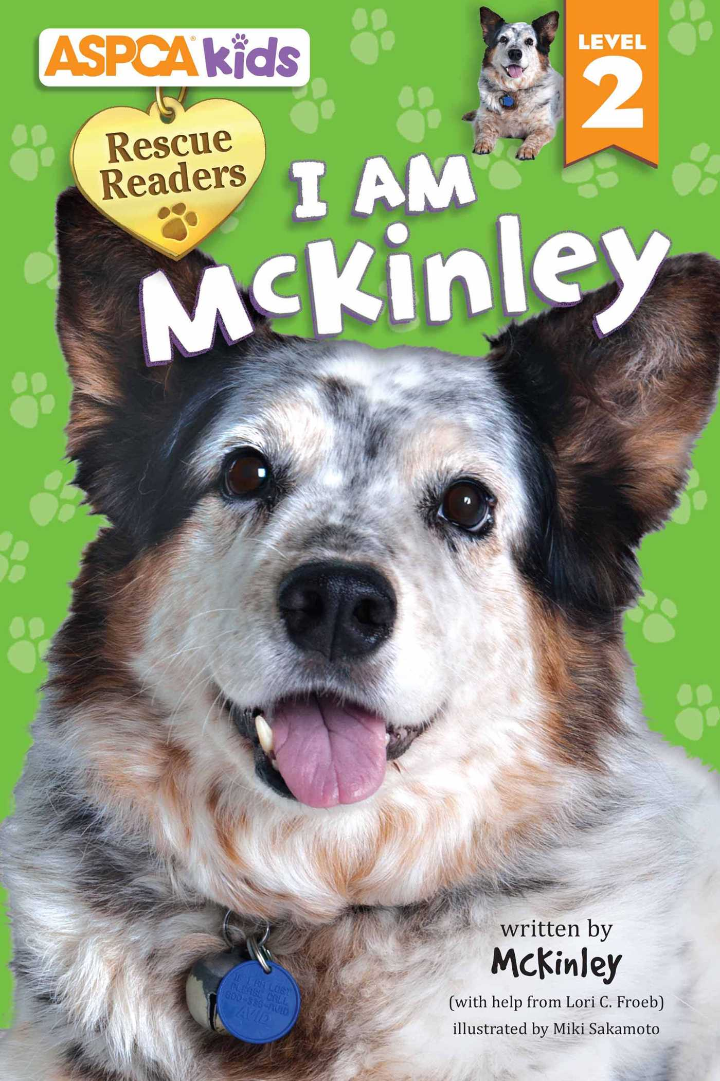 Aspca kids rescue readers i am mckinley 9780794433499 hr