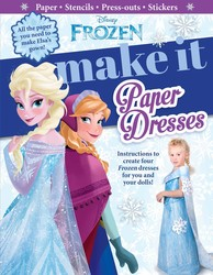 Disney Frozen: Make It Paper Dresses
