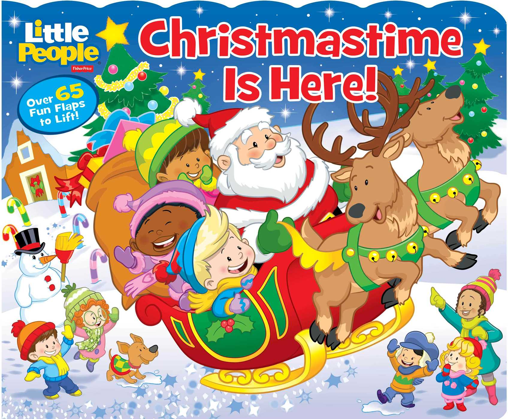 Fisher-Price Little People: Christmastime Is Here! | Book by Lori ...
