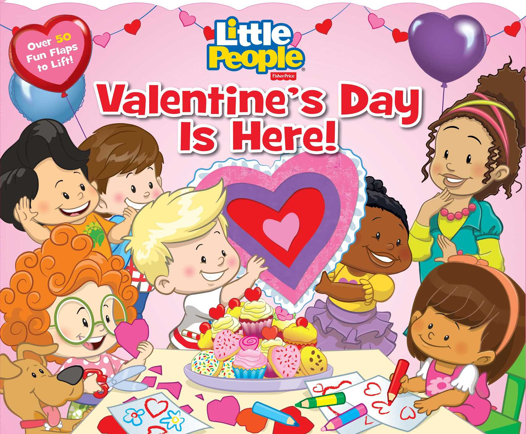 fisher price little people valentines day is 9780794435356 hr