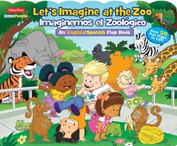 Fisher-Price Little People Let's Imagine at the Zoo / Imaginemos el Zoologico