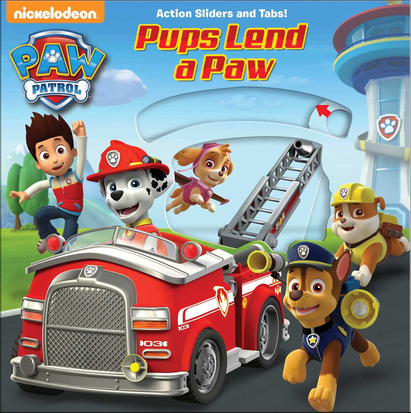 Paw Patrol Pups Lend A Paw Book By Tbd Official