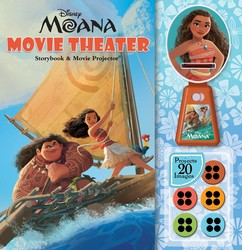 Disney Moana: Movie Theater Storybook & Movie Projector