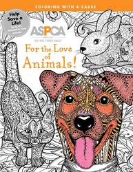 ASPCA Adult Coloring for Pet Lovers: For the Love of Animals!