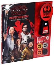 Star Wars: The Last Jedi Movie Theater Storybook & Movie Projector®